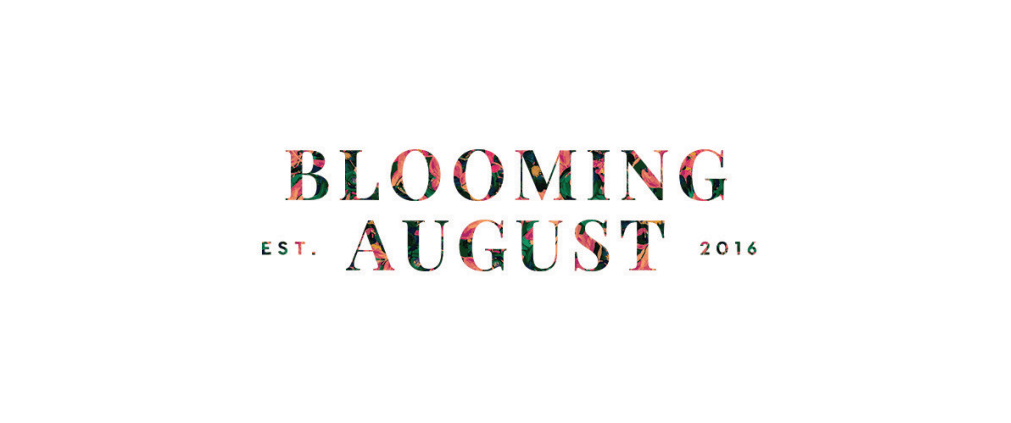 Blooming August logo