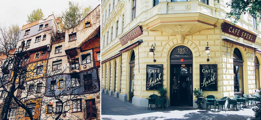 Vienna, Austria, Café