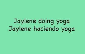 Jaylene Yoga