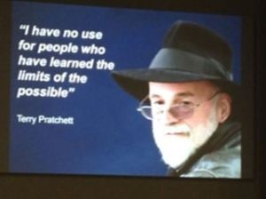 Terry Pratchet quotation