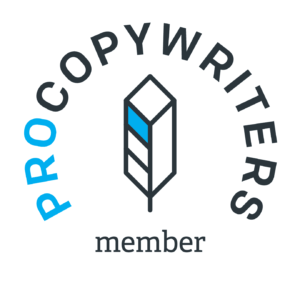 Member of Procopywriters, the UK's largest association for commercial writers
