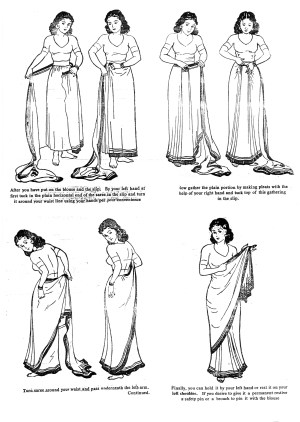 What the Sari Teaches us about Good Design  Blooming Rock