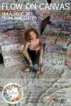 Hula Hoop Paintings from Amie Crites