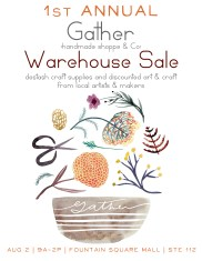 Warehouse Sale - Aug 2, 2014 | Suite 112 FSM