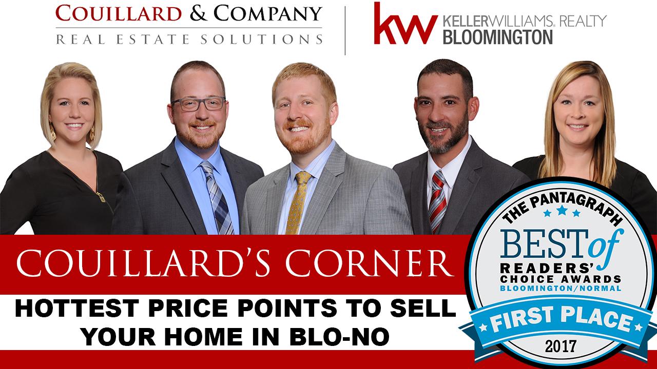 Couillard's Corner – Hottest Price Points in The Blo-No Market