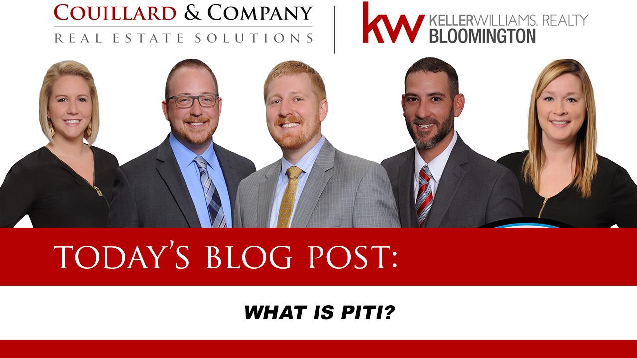 Couillard's Corner – What is PITI?