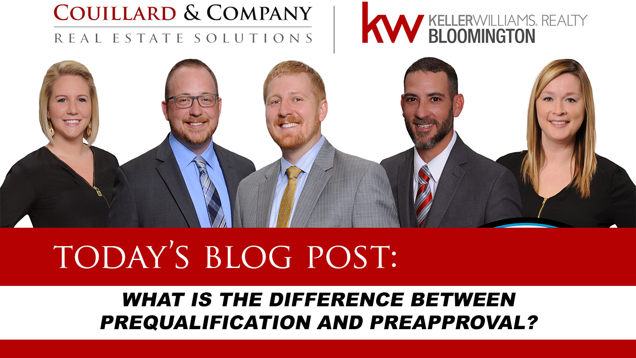 Couillard's Corner – What is Prequalification and Preapproval?