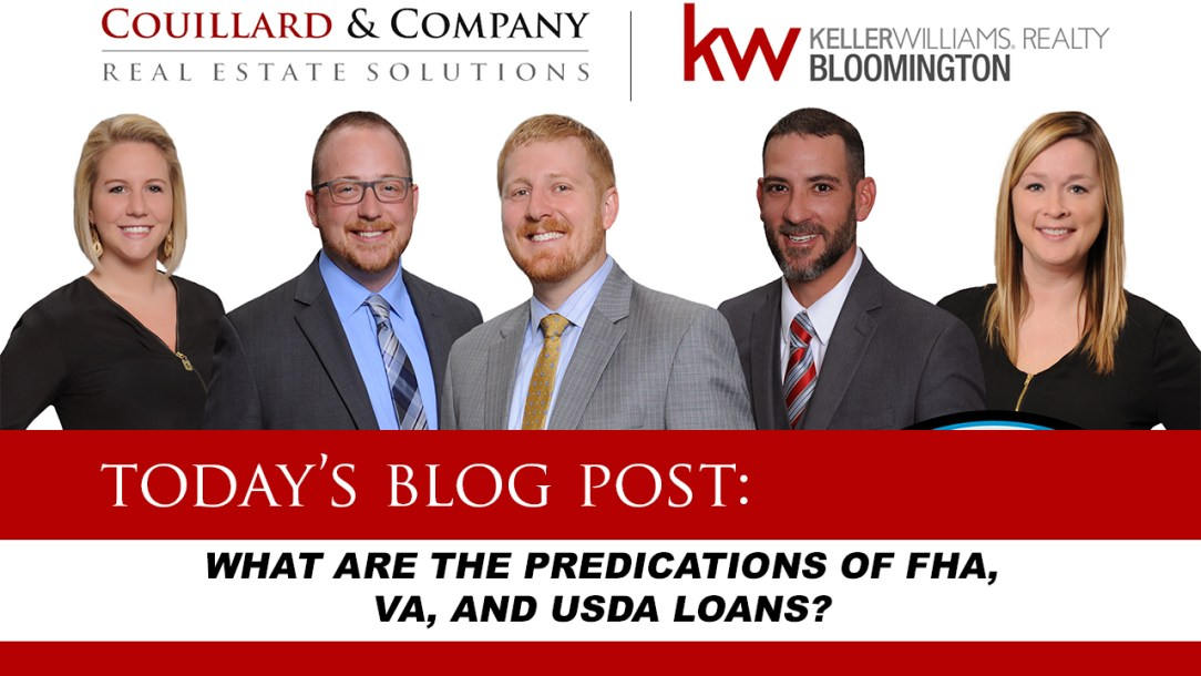 What are the predications of FHA, VA, and USDA Loans?