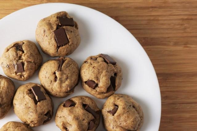 Vegan Chocolate Chunk Cookies | Blooming Vegan