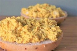 Tofu Eggless Salad | Blooming Vegan