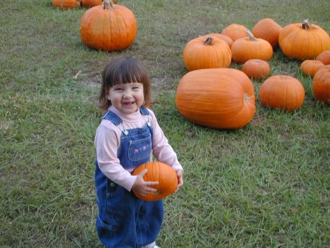 kids love pumpkins