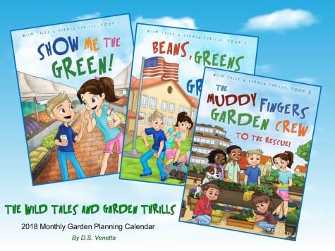 kids gardening books