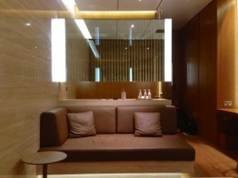 The Cabana at the New CX Wing First Class Lounge