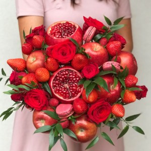 bouquet rouges de fruits