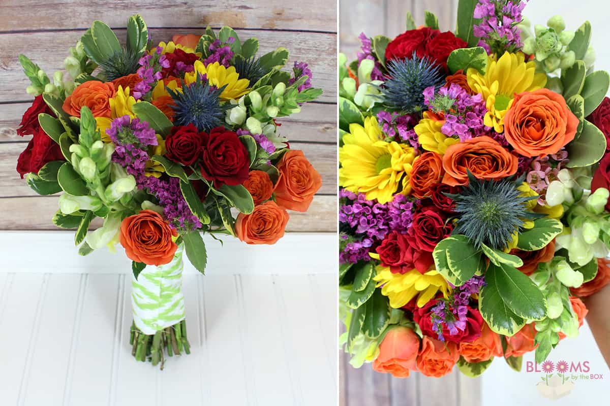 DIY Tutorial: How To Make A Colorful Bouquet