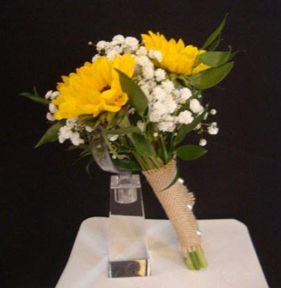 sunflowerbouquetburlapwrap