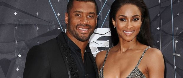 Russell Wilson wants everyone to know he's not hitting that.