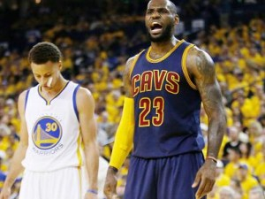 LeBron James led the Cleveland Cavaliers past Steph Curry and the Golden State Warriors in an epic NBA Finals that ranks as one of Blooperman's top sports stories from 2016.