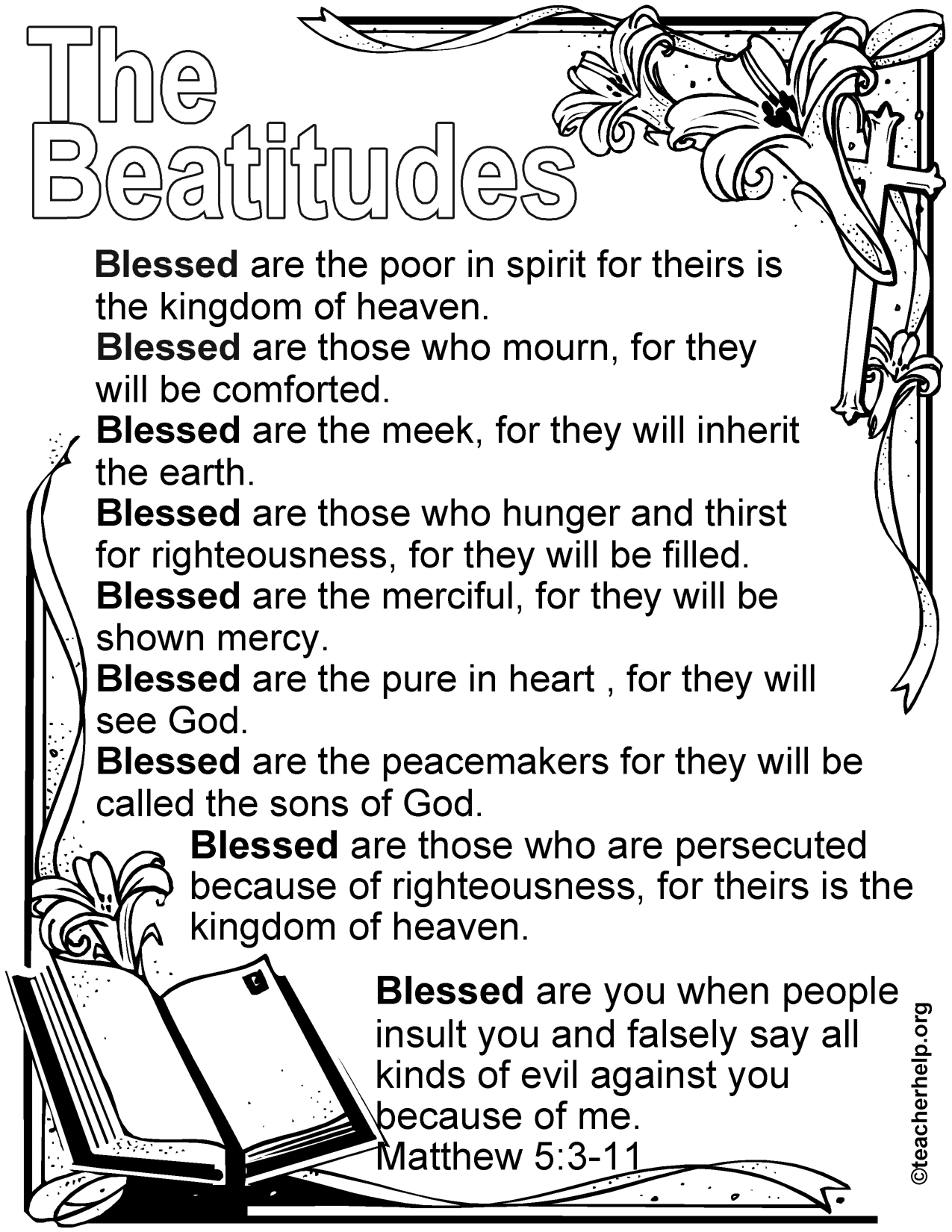 Guided By The Beatitudes Bloor Lansdowne Christian