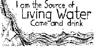 Living Water: It Helps Us Discern the Milestones from the