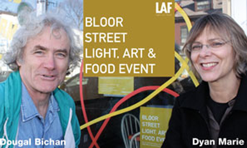 Walk Bloordale – Enjoy the Light, Art – Food Event