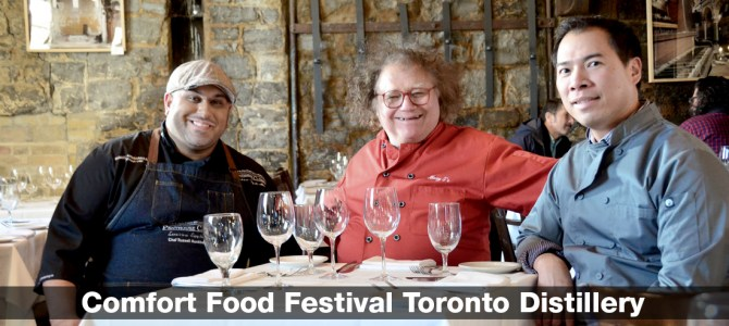 Heat Fest Comfort Food Festival Toronto Distillery District