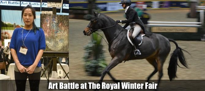 Art Battle at The Royal Winter Fair