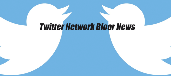 Twitter Network Bloor News