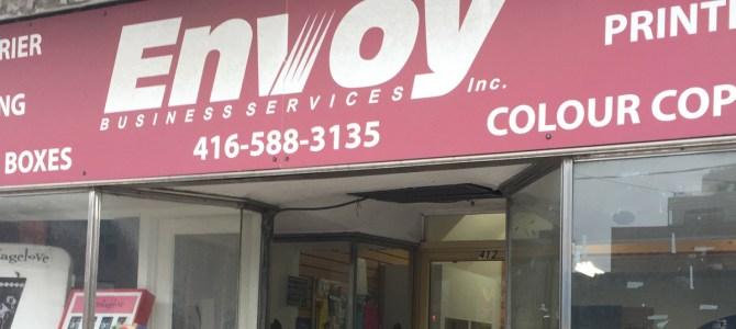 Envoy Printing Roncesvalles Toronto