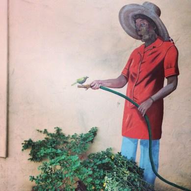 Sustainable graffiti, Palo Alto