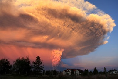 Calbuco Volcano, April 2015