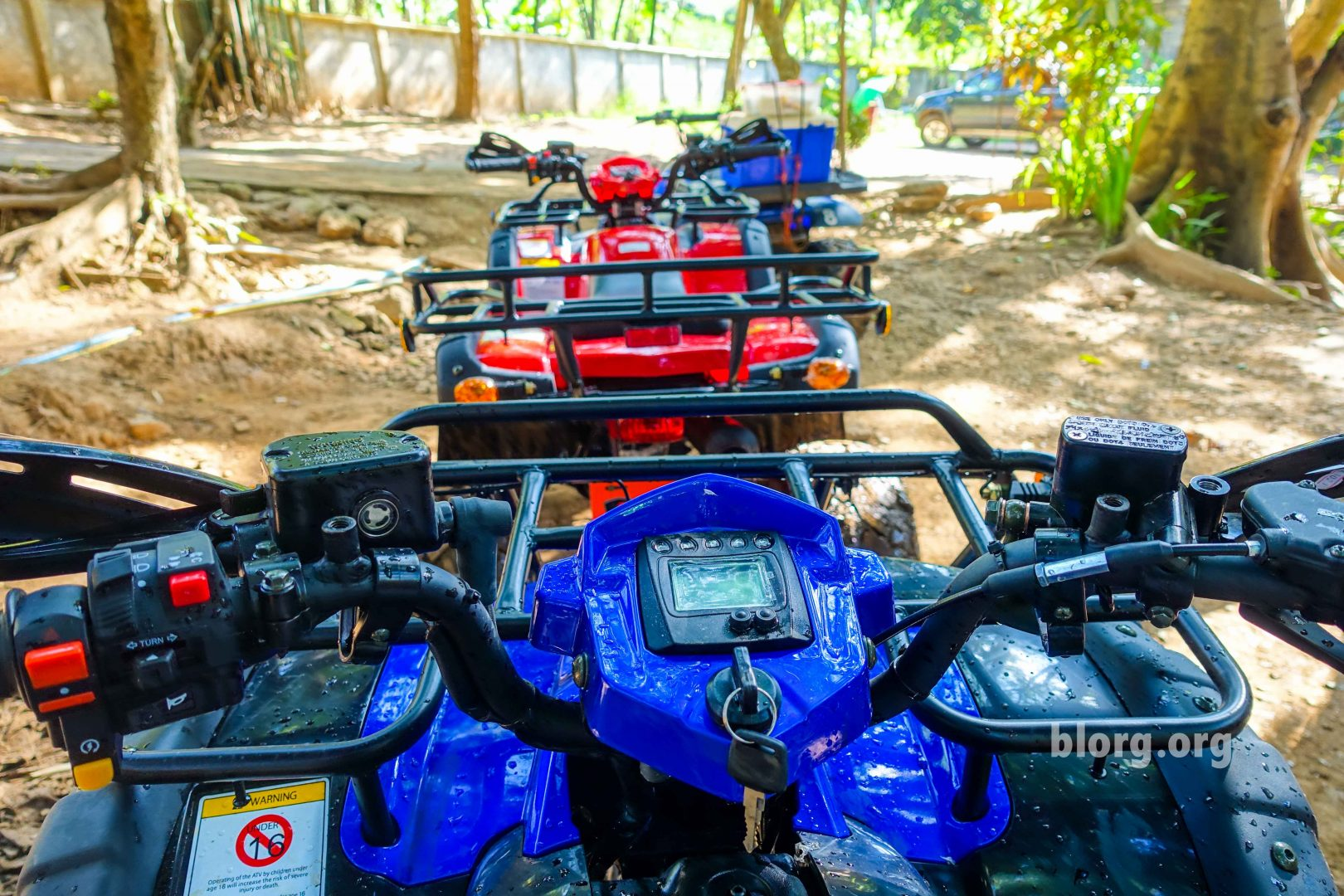 An ATV and an Injury in Chiang Mai, Thailand