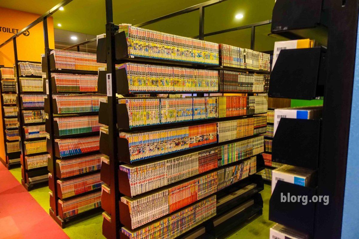 Manga library