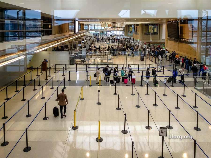 LAX TSA Line