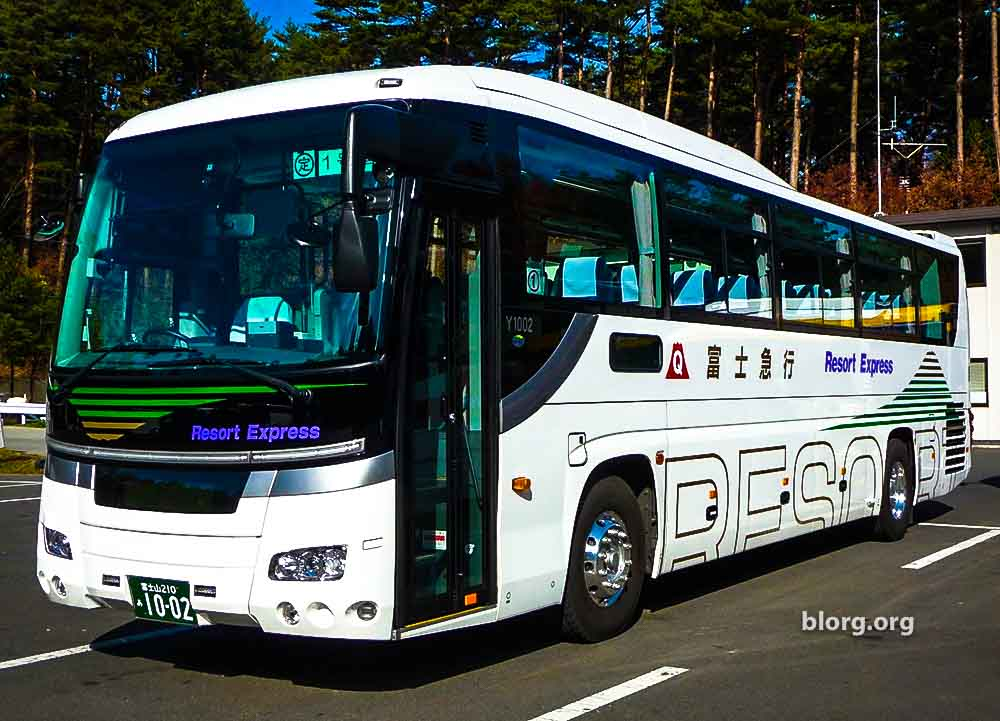 From Tokyo To Fujinomiya: By Bus