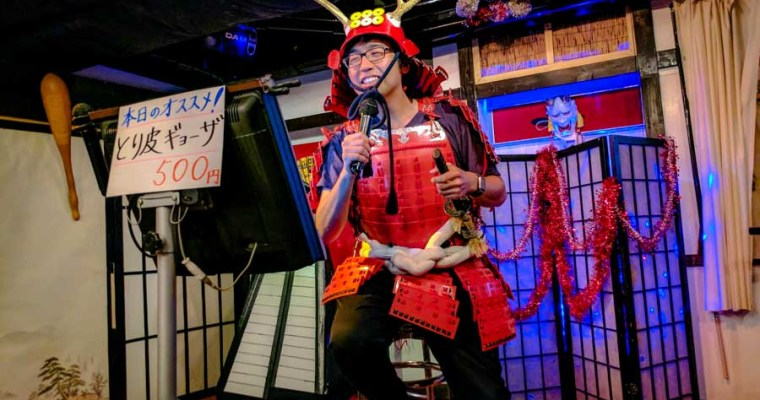 Osaka Survival: Drinking, Throwing Ninja Stars and Karaoke