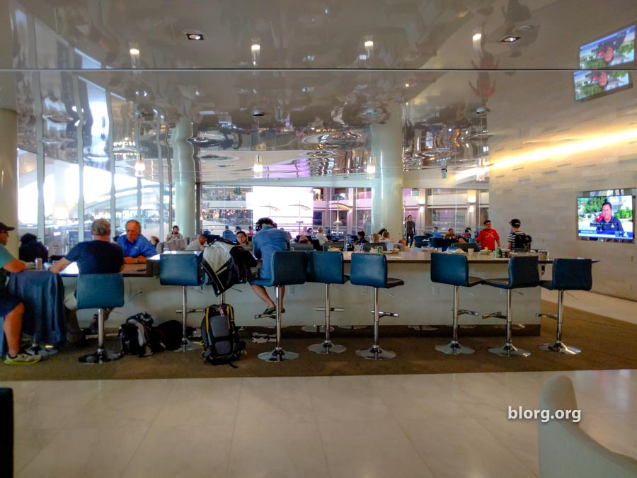 LAX: Korean Air Lounge TBIT