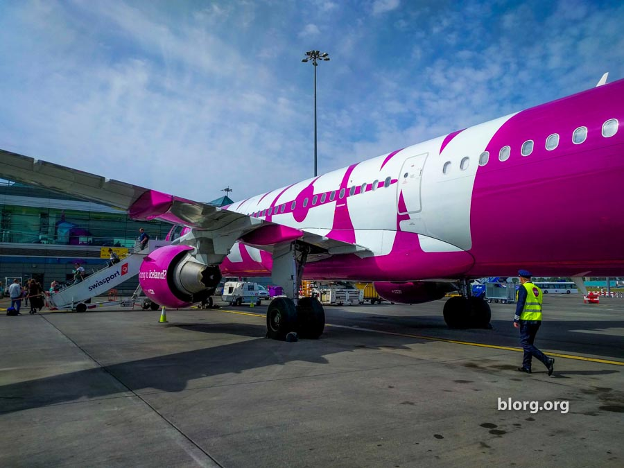 Wow Air Review: Reykjavik (KEF) to Dublin (DUB)
