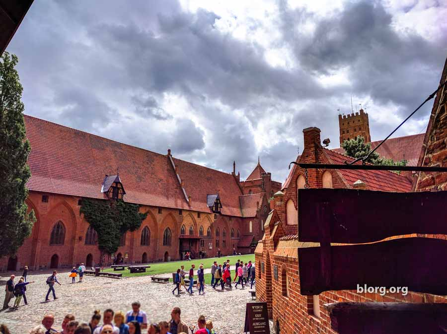 malbork castle grounds