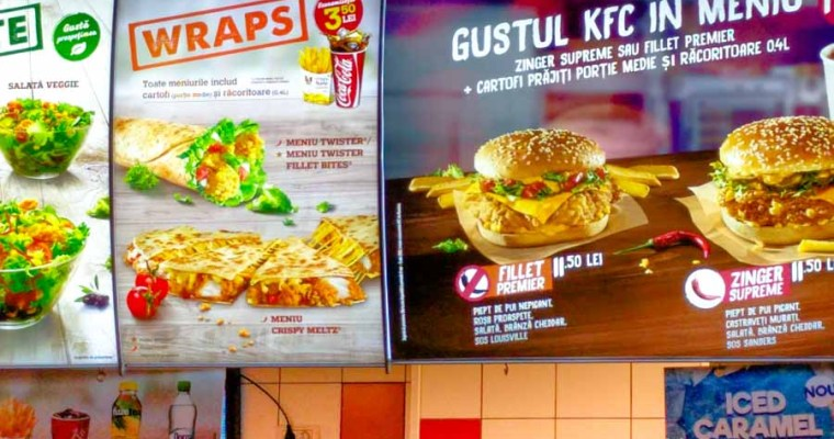 Fast Food Chronicles: Eating at KFC in Cluj, Romania