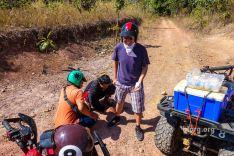 ATV injury