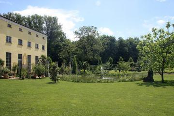 Garten des hofgutes holzmuehle