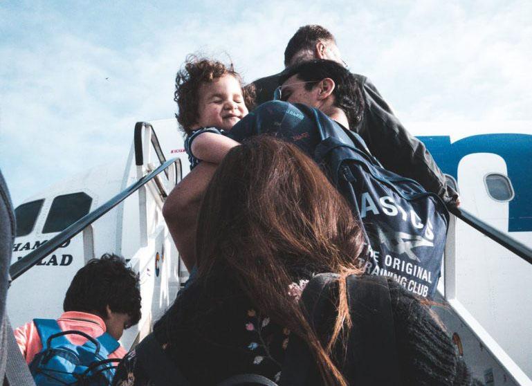 average child travels