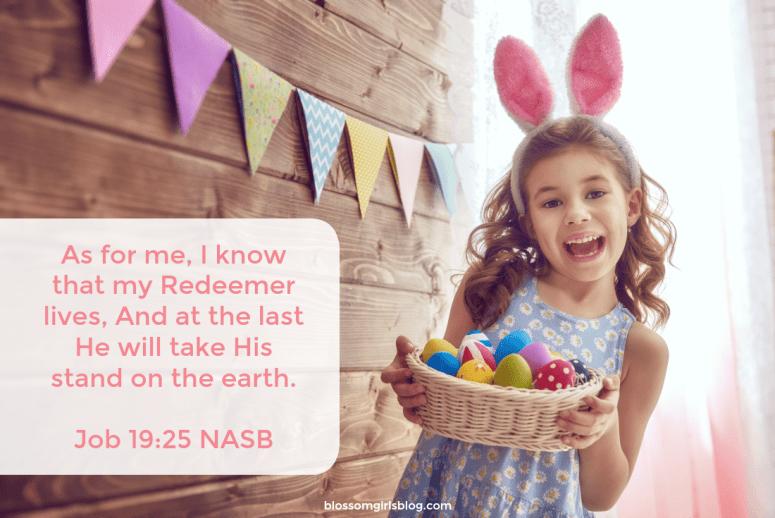 Easter Job 19:25
