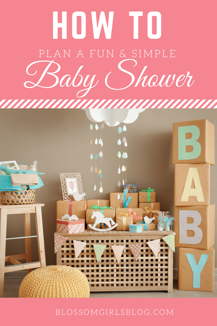 How To Plan A Fun And Simple Baby Shower   I Love The Printable! These