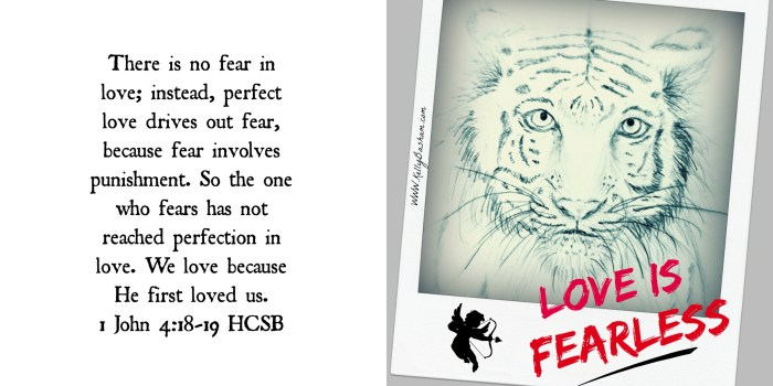 love is fearless