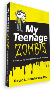My Teenage Zombie. Is your teenager having a hard time finding their way? Do you worry that they might not ever turn in to the mature adult you're raising them to be?