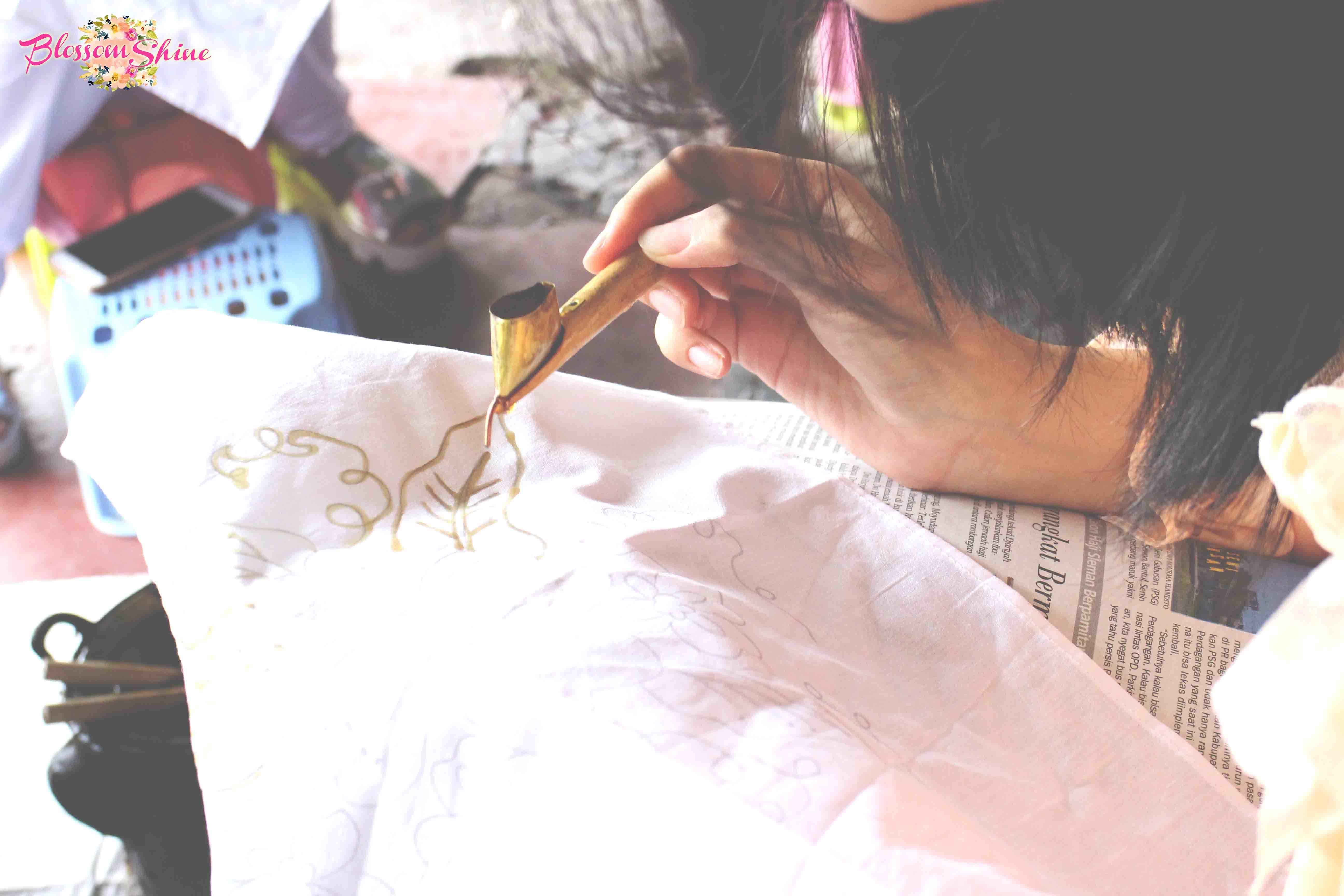Batik Sogan workshop 9 blossomshine