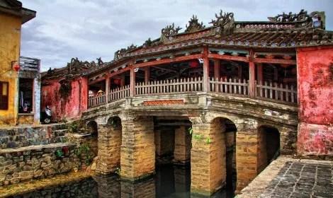 Japanese Covered Bridge, Hoi An, Vietnam