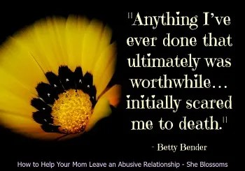 How to Help Your Mom Leave an Abusive Relationship